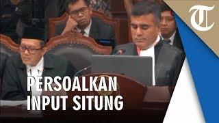 Tim Hukum Kubu Prabowo Permasalahkan Data Input Situng Milik KPU sehingga Timbulkan Kekacauan