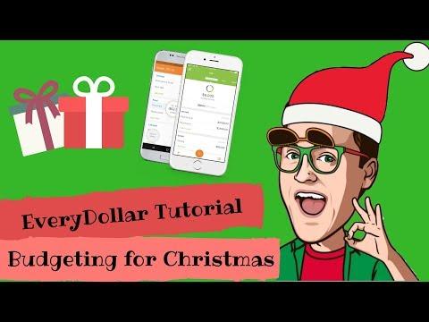 EveryDollar Tutorial: Budgeting for Christmas
