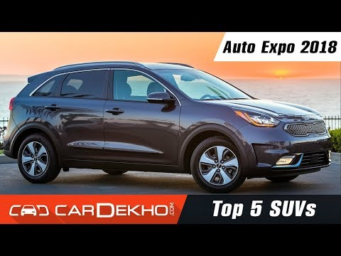 Top 5 SUVs @ Auto Expo 2018