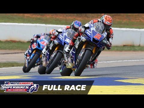 MotoAmerica HONOS Superbike Race 2 at Road Atlanta 2021