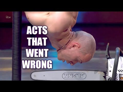 Acts that went wrong - America's Got talent (видео)