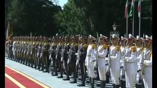 PM Modi at the Ceremonial Reception In Iran | PMO