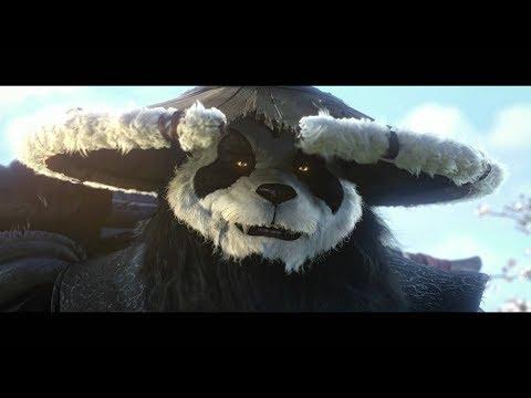 KUNG FU PANDA 3D TRAILER OFICIAL 2018