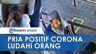 Pria Positif Corona Ludahi Orang saat di Stasiun Terekam CCTV, Ditemukan Tewas di Gerbong Kereta Api