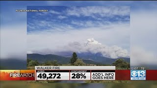 Walker Fire Grows To Nearly 50K Acres