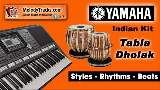 NIgahen Milane Ko Ji Chahta Hai   Tabla Dholak Yamaha Indian Kit Style Beat Rhythm