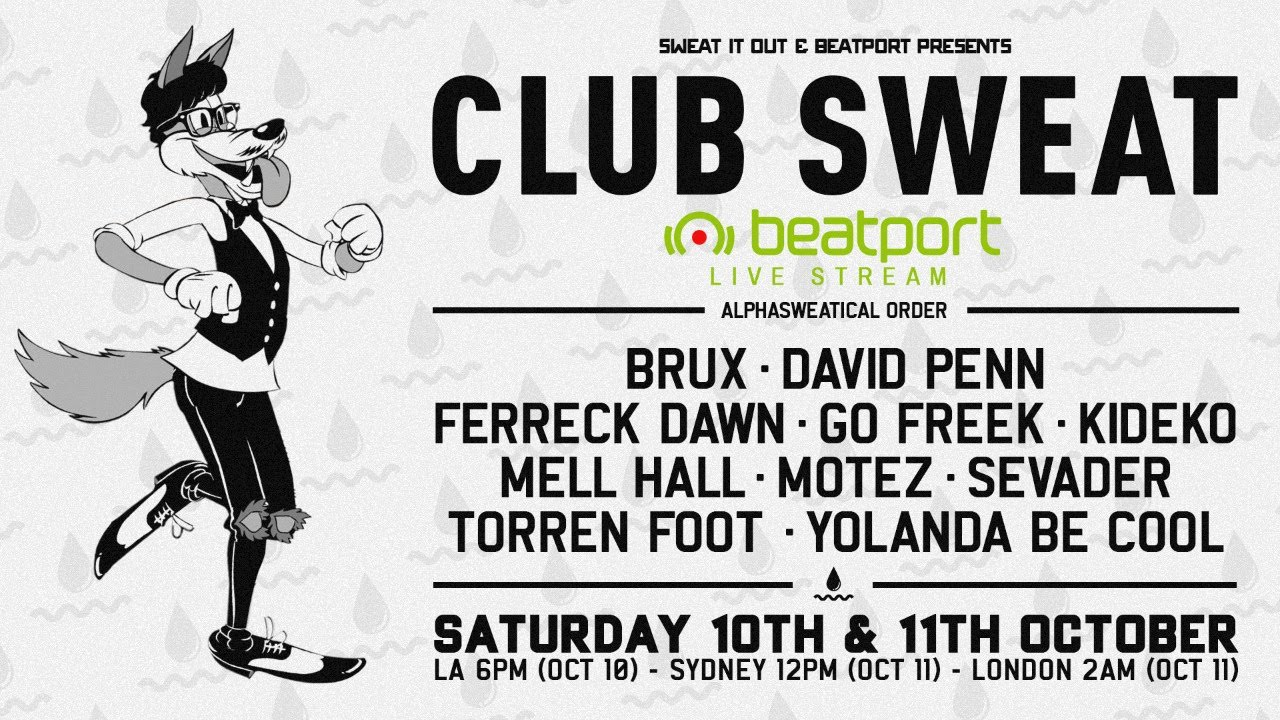 David Penn - Live @ Sweat It Out Presents: Club Sweat Live 2020