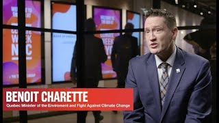 Benoit Charette, Government of Quebec - Climate Week NYC