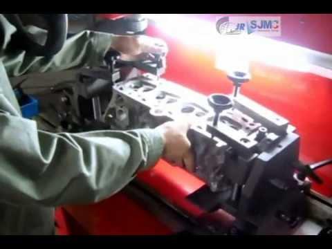 Maquina Rectificadora de Asientos de Valvulas,SJMC, Modelo BV60S, doble colchon de aire