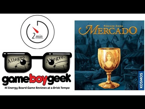 The Game Boy Geek's Allegro (2-min Review) of Mercado