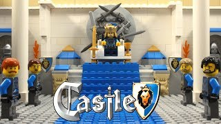 Lego Castle Lion Knight's Legends Stop Motion Animation