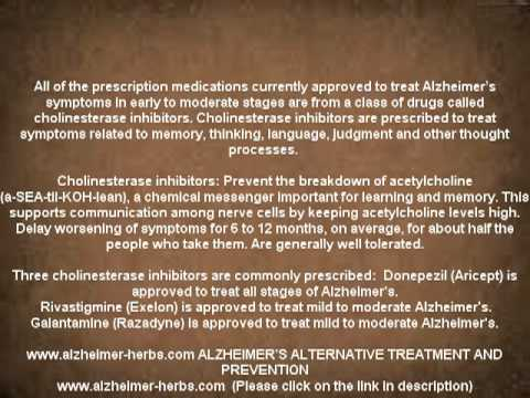 Video ALZHEIMER'S DRUGS WIKI