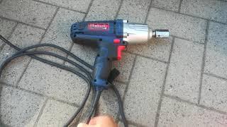 Elektro Schlagschrauber Güde ESS 350 imTest am Multicar