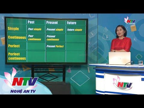 MÔN TIẾNG ANH 9 - ÔN TẬP: THÌ CỦA CÁC ĐỘNG TỪ TRONG TIẾNG ANH | VERB TENSES- NGÀY 17/3/2020 (Dạy học trên truyền hình NTV)