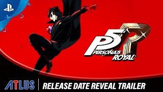 Persona 5 Royal | Release Date Reveal Trailer | PS4
