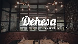 Just The Thing: Dehesa