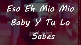 Nicky Jam Ft Fuego   Good Vibes Lyrics
