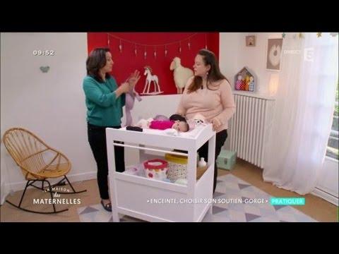 Choisir son soutien-gorge de grossesse ! La Maison des Maternelles - France 5