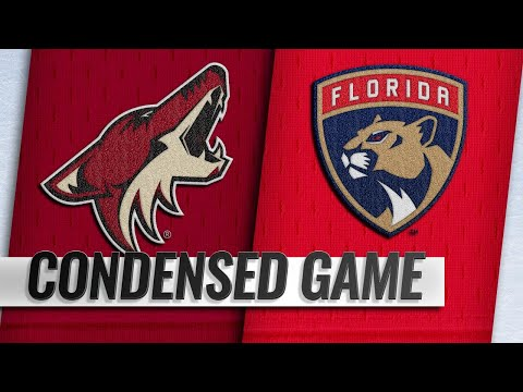 03/21/19 Condensed Game: Coyotes @ Panthers