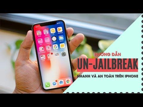 Hướng dẫn Un-Jailbreak an toàn trên tất cả máy iPhone - Viettablet