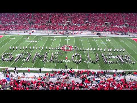HD 1080P OSUMB Video Game Half Time Show PLUS Script Ohio TBDBITL Ohio State vs, Nebraska 10 6 2012