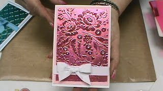 #149 NEW Sizzix Embossing Folders, Stunning DecoFoils & Glitters By Scrapbooking Made Simple