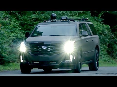 Cadillac Escalade ESV With FLIR And Other Toys — /INSIDE AI DESIGN