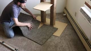 Building a cat tree