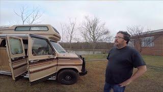 Tour of Campervan Kevin's 1987 Class B Van