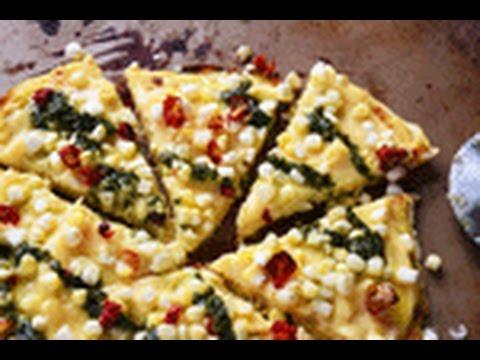 Video Spaghetti Squash Crust Pizza