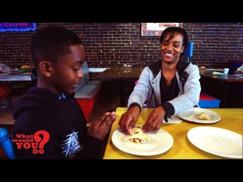 Mother can only afford one meal to share with her family  | WWYD