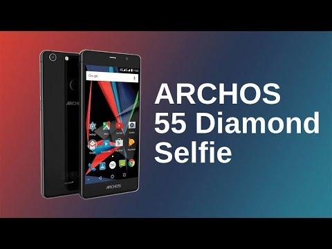 ARCHOS 55 Diamond Selfie Presentation