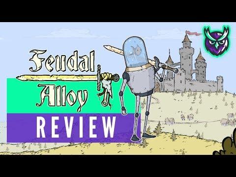 Feudal Alloy Nintendo Switch Review - (a quirky Metroidvania) 2019 video thumbnail