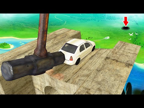 INSANE CAR GOLF Crashes #2 - BeamNG Drive | Crashtherapy