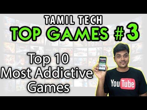 Tamil Tech TOP Games #3 : 10 Most ADDICTIVE Games