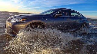 Проверяем новый Lexus ES на прочность! 4 млн рублей в воду!