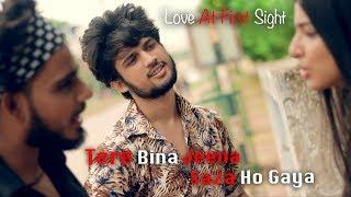Tere Bina Jeena Saza Ho Gaya - Love At First Sight | Cute Love Story | Unknown Boy Varun