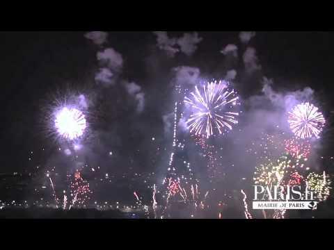 パリ祭の花火 - Feux d'artifice du 14 juillet