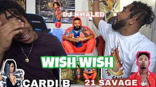 DJ Khaled   Wish Wish (Audio) Ft. Cardi B, 21 Savage | FVO Reaction