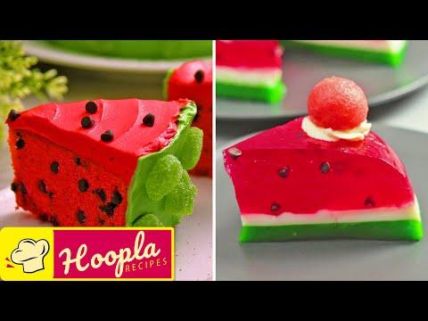 Easy Watermelon Dessert   Homemade Cake Decorating Tutorials   so tasty