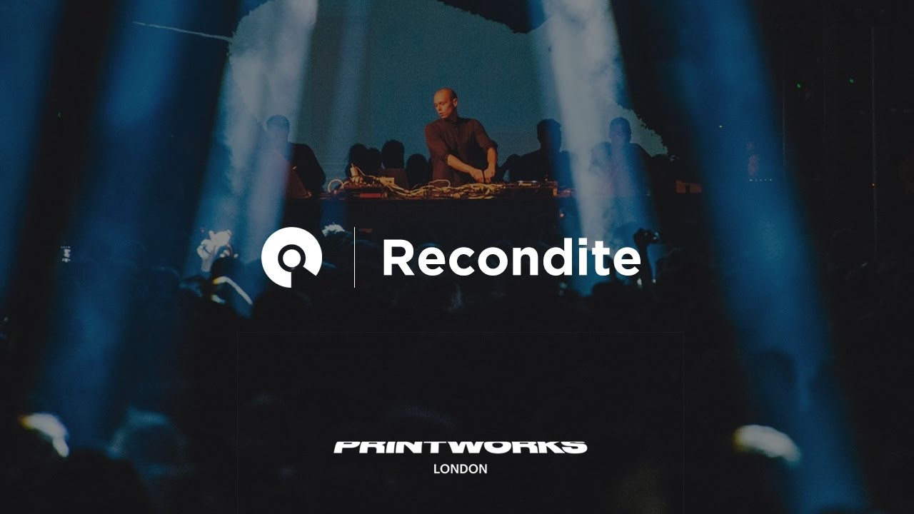 Recondite - Live @ Melt Festival x Printworks London 2017