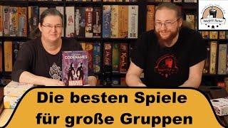 Die besten Brettspiele für große Gruppen (Teil 1) - Brettspiel Café Würfel und Zucker
