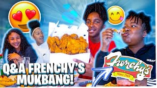 DOES RJ WANT SMOKE WITH MYKEL? & IS DEDE AND PAIGE OK!!! Q&A *CHICKEN MUKBANG*