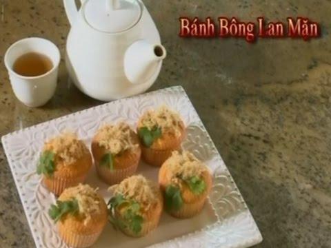 Bánh bông lan sốt phô mai trứng muối - Xuân Hồng
