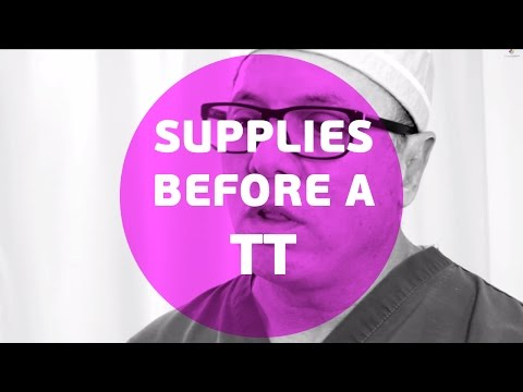 What supplies do you need before a tummy tuck/abdominoplasty ?