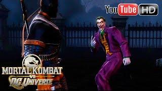 Mortal Kombat VS DC Universe [Xbox 360] - ✪ Chapter 6 ✪ | The Joker | Full HD