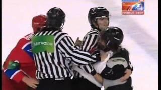 Драка Красная Армия (Россия) vs EJHL (США) - Fights Red Army (Russia) vs EJHL (USA) Brawl