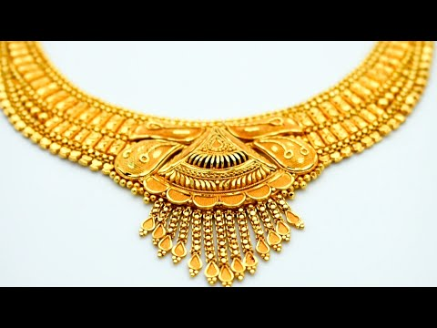 24K Gold Necklace Making   Jewellery Making   Learn how to make this Design - Gold Smith Jack