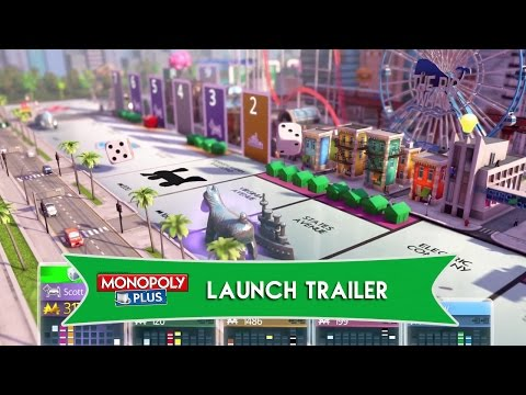 MONOPOLY Plus Launch Trailer [North America] thumbnail