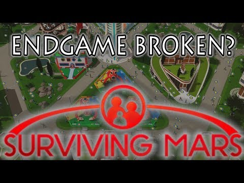 Surviving Mars - Endgame broken? Does this need fixing?